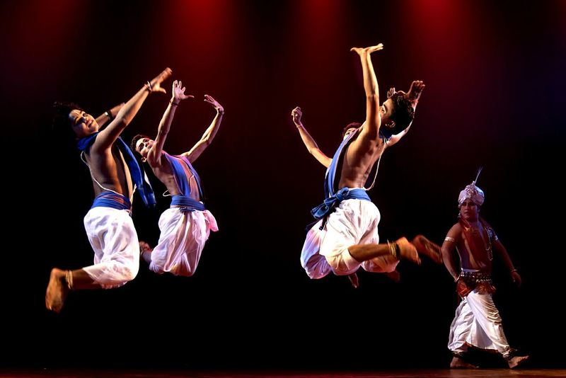 Welcome To Black Skill  Performance Vitality Full Length Arms Raised Motion Balance Mid-air Arts Culture And Entertainment Jumping Performing Arts Event Flexibility People Dancing Dancing Around The World Indian Classical Dance Odissi Classical Dance EyeEm Ready