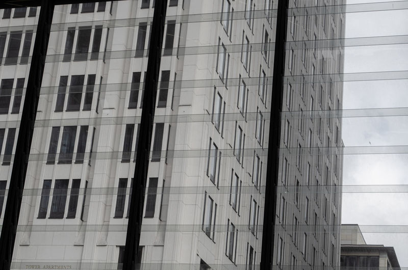 Berlin Berlin Photography Architectural Feature Architecture Building Building Exterior Built Structure City Full Frame Glass - Material Low Angle View Modern Nature No People Office Office Building Exterior Outdoors Pattern Reflection Window