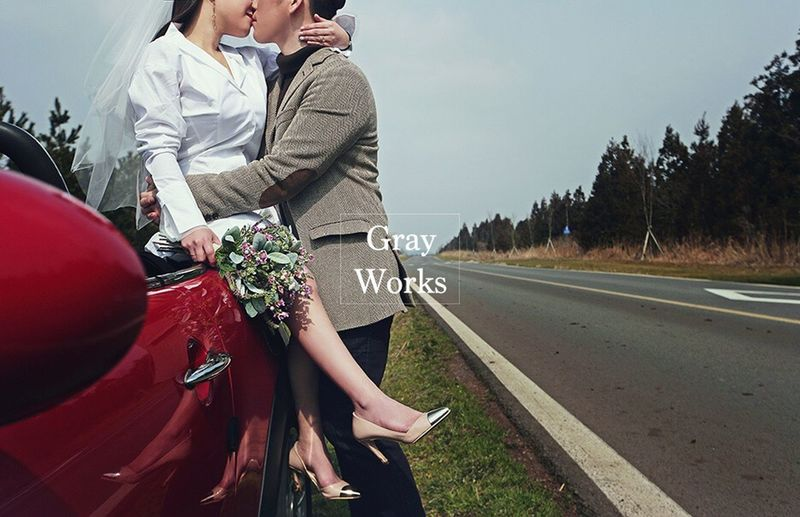 Grayworks Wedding Weddingphotography Weddingphotographer Photographer Korea Koreawedding MiniCooper Weddingdress Buquet Day Bride Wedding Photography JEJU ISLAND  Jongyoung-lee Jiyoon-ryu