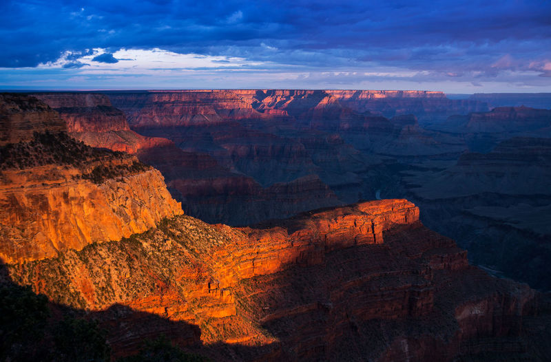 Cloud - Sky Sky Scenics - Nature Beauty In Nature Mountain Nature Mountain Range No People Tranquil Scene Landscape Tranquility Outdoors Non-urban Scene Cloud Canyon Grand Canyon Sunlight Sunlight And Shadow Sunlit Sunlight, Shades And Shadows Nature