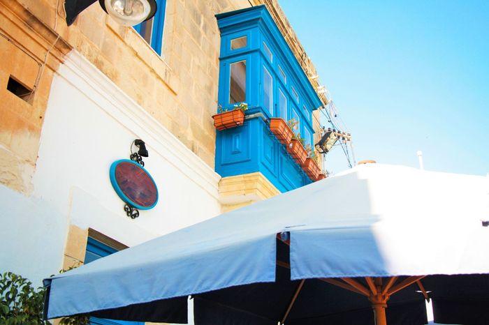 Beach Front Blue Blue Sky Malta Malta Balconies Malta Culture Malta Houses Marsaxlokk Sunny Sunny Day Tourism