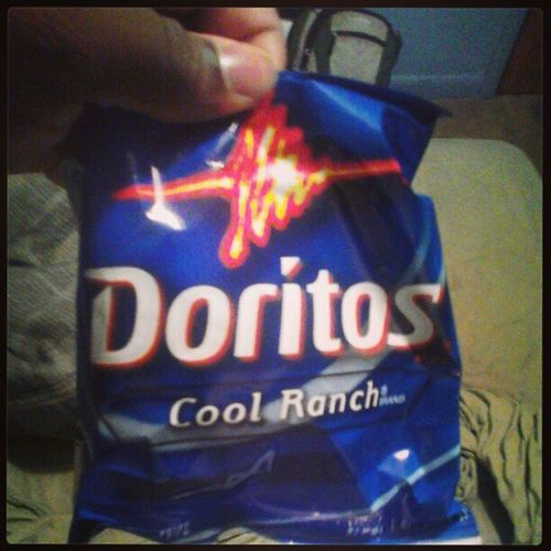 Courtesy of my uncle. #chips #Doritos #coolranch #favorite #food #yussss Food Chips Favorite Doritos Coolranch Yussss