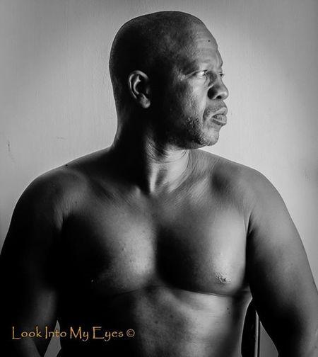 Me Blackisbeautiful Blackandwhite Selfportrait