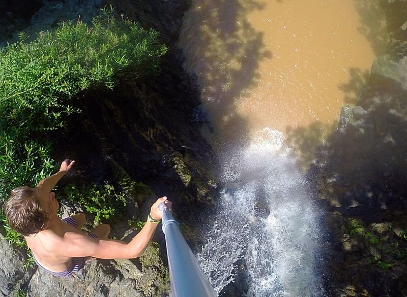 Montezuma Costa Rica Traveling Travel Travelling Cliff Diving Cliff Jumping
