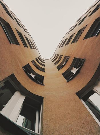 Wuhu, Kreuzberg! Vscocam Berlin Backyard Looking Up