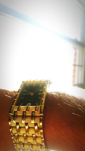 Sun Light Bright New Picture Gold Watch Closeup Check This Out Enjoying Life Nick Morning