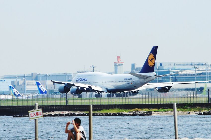 Haneda Airport Airplane TakeOff