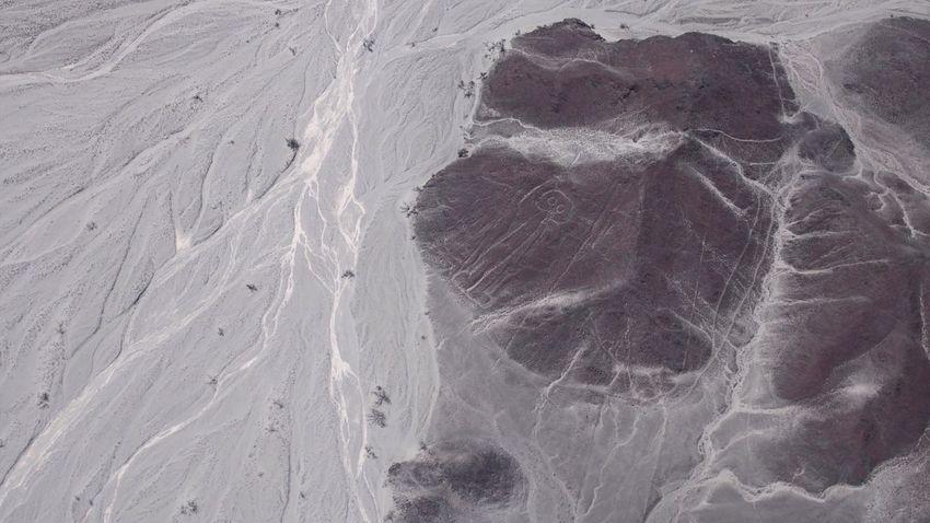 宇宙飛行士 ナスカの地上絵