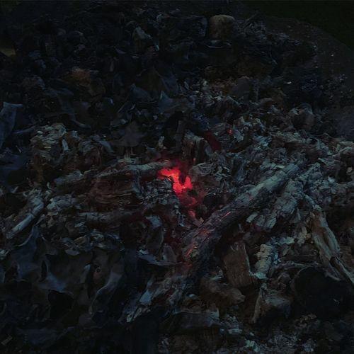 Last embers of