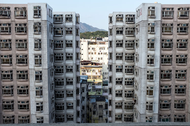Hong Kong Streets Hong Kong Hong Kong City Apartment Architecture Building Building Exterior Built Structure City City Life Cityscape Day High Angle View Nature No People Office Outdoors Residential District Sky Skyscraper Tall - High Travel Destinations Window