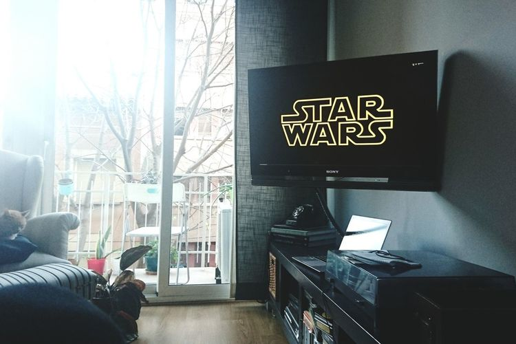 Movie time. Watching A Movie MOVIE Relaxing Starwars Enjoying Life Home