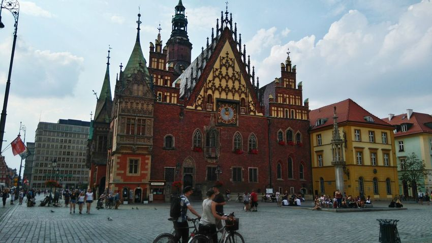 Architecture Travel Built Structure City Life Cultures Poland Wroclaw, Poland Wroclove