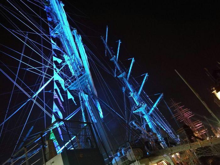 Lights Romantic Night Lights Night Huawei HuaweiP9 Taking Photos Sail2016 Ship Boat Boats⛵️ Cruise Relaxing Enjoying Life Sailboat Sail Art Blue Blueship Bluelight