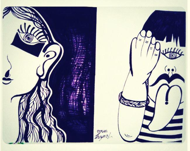 แหกคอกตามกระแส ArtWork Art Im Different . Visual Art art