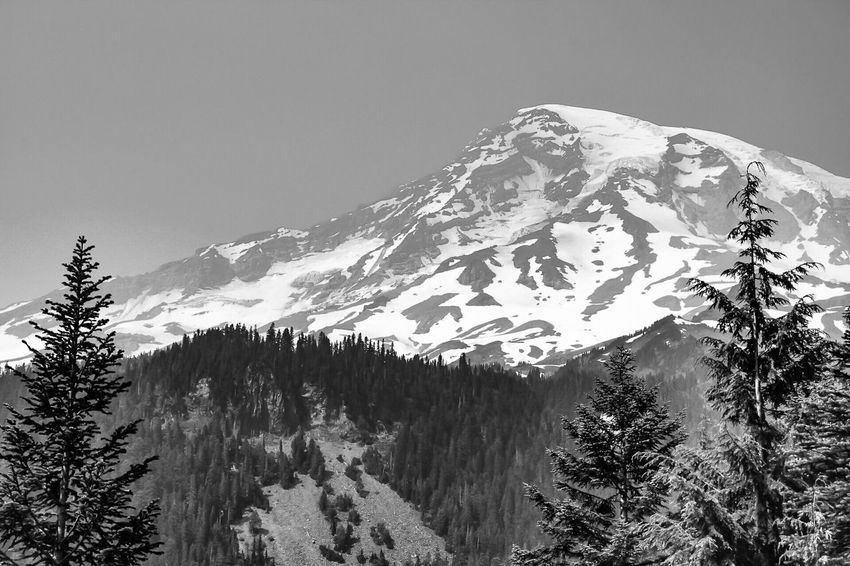 Mountain Beauty In Nature Nature Snowcapped Mountain Mountain Range Landscape Blackandwhite Photography Black & White Black And White