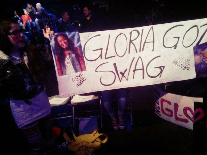 Gloria Got Swag!!!