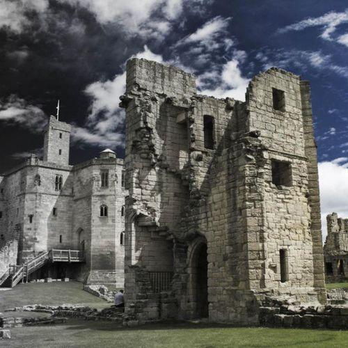 History Castle Warkworth WarkworthCastle Uk England Johnnelson