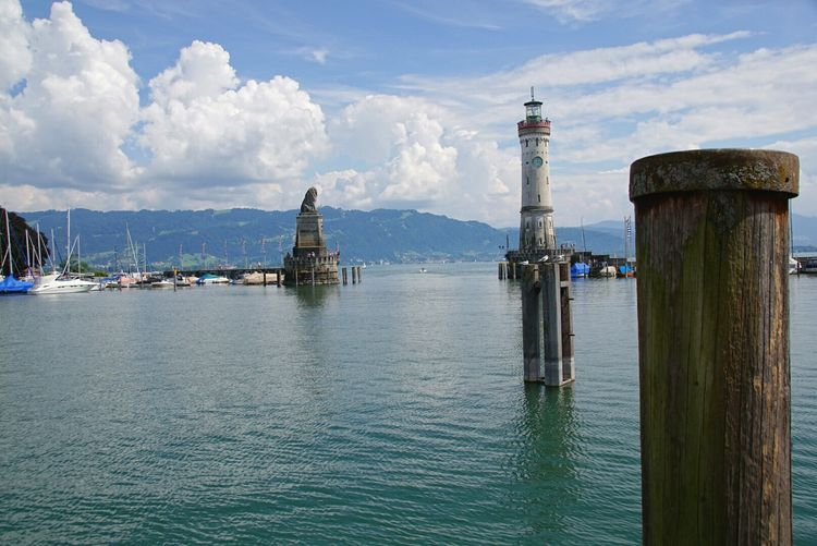 Bodensee Lindau Lindauinsel Lindau Island Relaxing Enjoying Life Nature Photography Still Life Sony Alpha 77 M2 Landscape HDR Lighttower Lighttowers Leuchtturm Lake Lake View Löwe  Skulptur