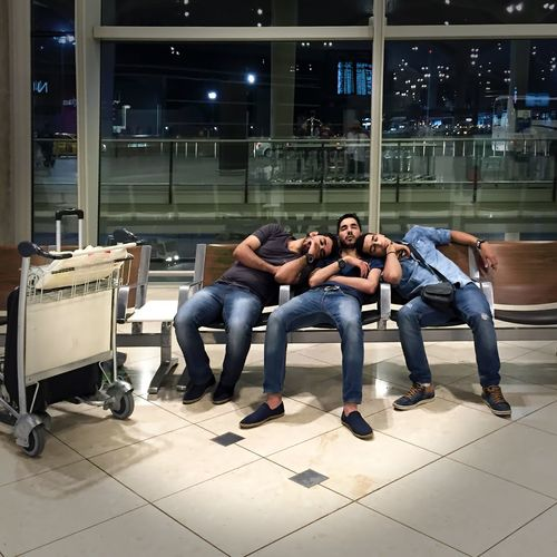 191 / 366 Airoport Casual Clothing Chair Indoors  Leisure Activity Lifestyles Person Relaxation Sitting Togetherness Waiting For Planes Young Adult Young Man Candid Photography Candidshot Candid Shot Fine Art Photography