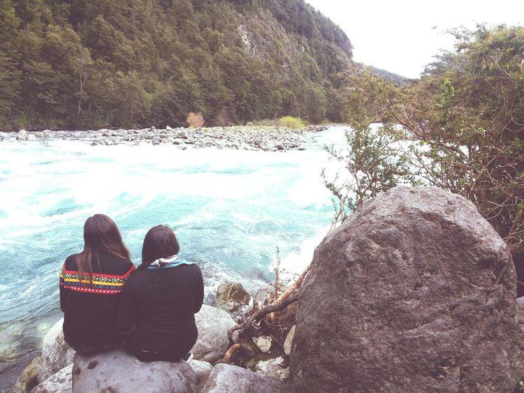 Ensenada Saltos Del Petrohue Friends Friendship Sur De Chile Amistad Amigas