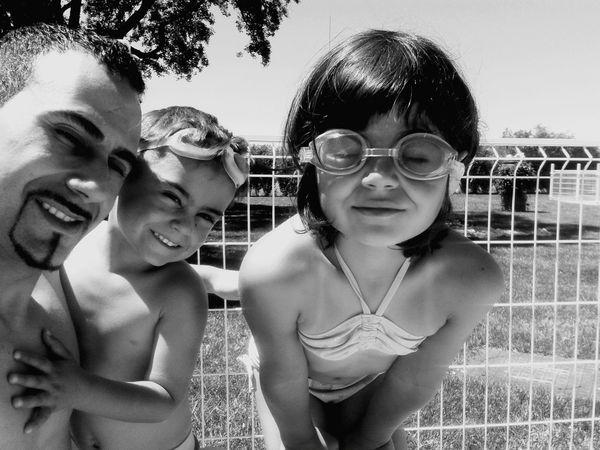We Are Family Blackandwhite Photograph