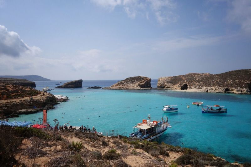 No filter needed! The Blue Lagoon, Comino