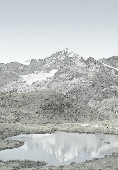 Photoshop Mountains Dolomiti Italy Riflectionswater Dipinti EyeEm Russia QUADRI Playground Selfie ✌