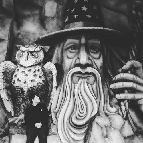 Nunca cutuque um dragão adormecido Portrait Adult Park Parks And Recreation Park View Harrypotter Betocarreroworld Dumbledore Fantasy Wizzard Stones Happyday