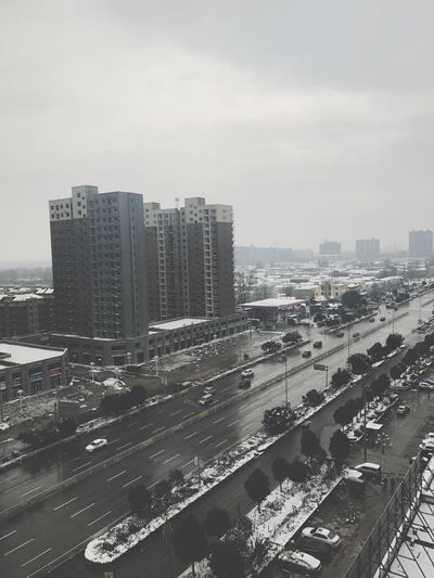 City China Photography Transportation Modern Rainy Days