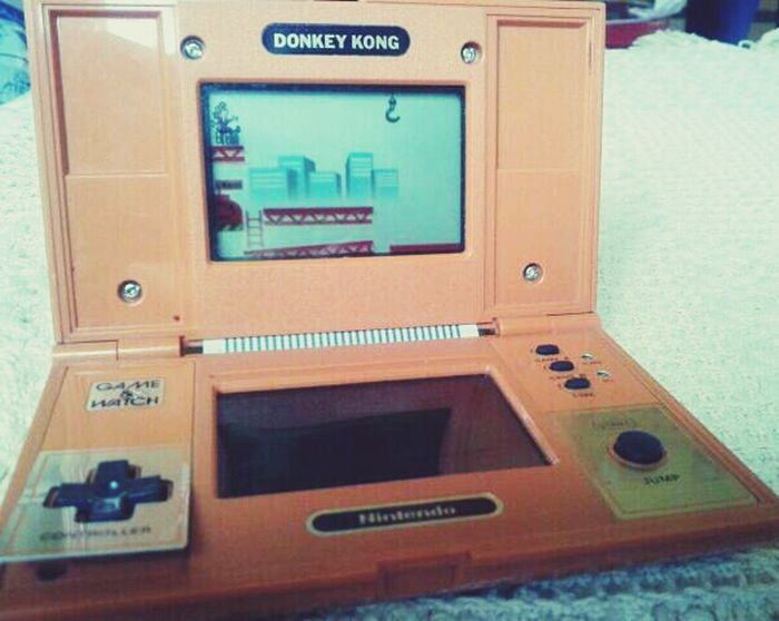 My NintendoDonkey Kong 1982 This is what entertained us on a Sunday Morning. How far we've come Grand Theft Auto ....