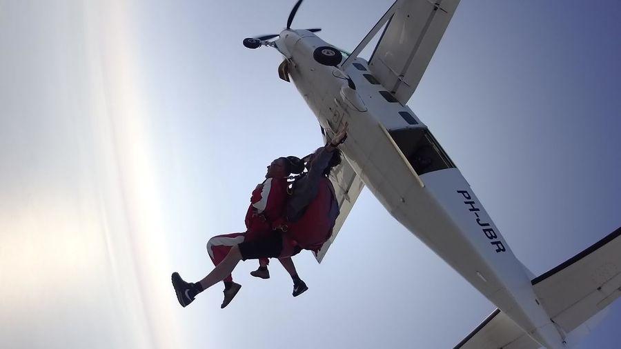 Skydiving Low