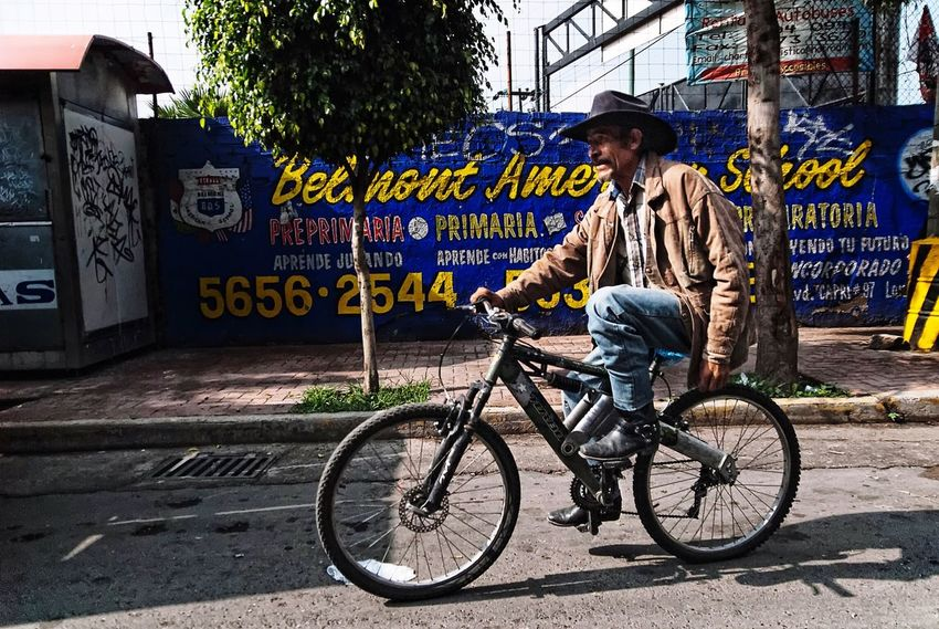 Urban cowboy Cdmx Street Photography Mexico City Urban Bycicle Life Mexico