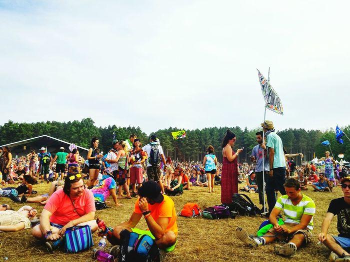 Concert Electric Forest Landscape Music Festival