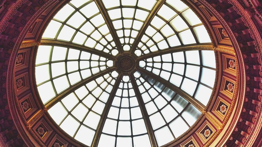 Ceiling Indoors  Architecture Architectural Feature Built Structure Travel Destinations Taking Photos No People National Gallery  London Pattern Dome Day Your Ticket To Europe