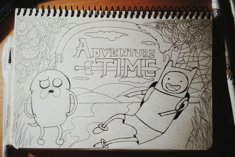 Art, Drawing, Creativity AdvantureTime