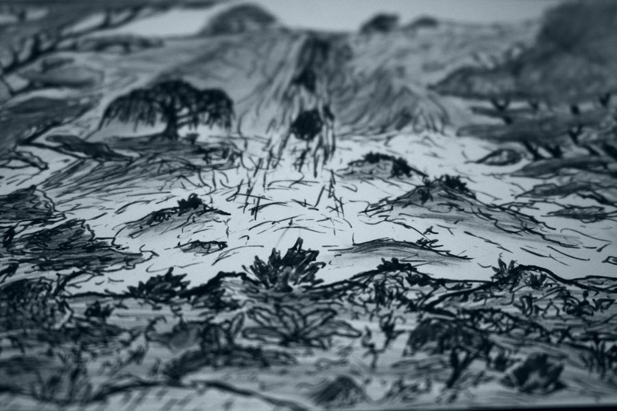 Art, Drawing, Creativity Backgrounds Close-up Cold Cold Temperature Drawing High Angle View Natural Pattern No People Physical Geography Season  Textured  Winter Zaap'sdraws