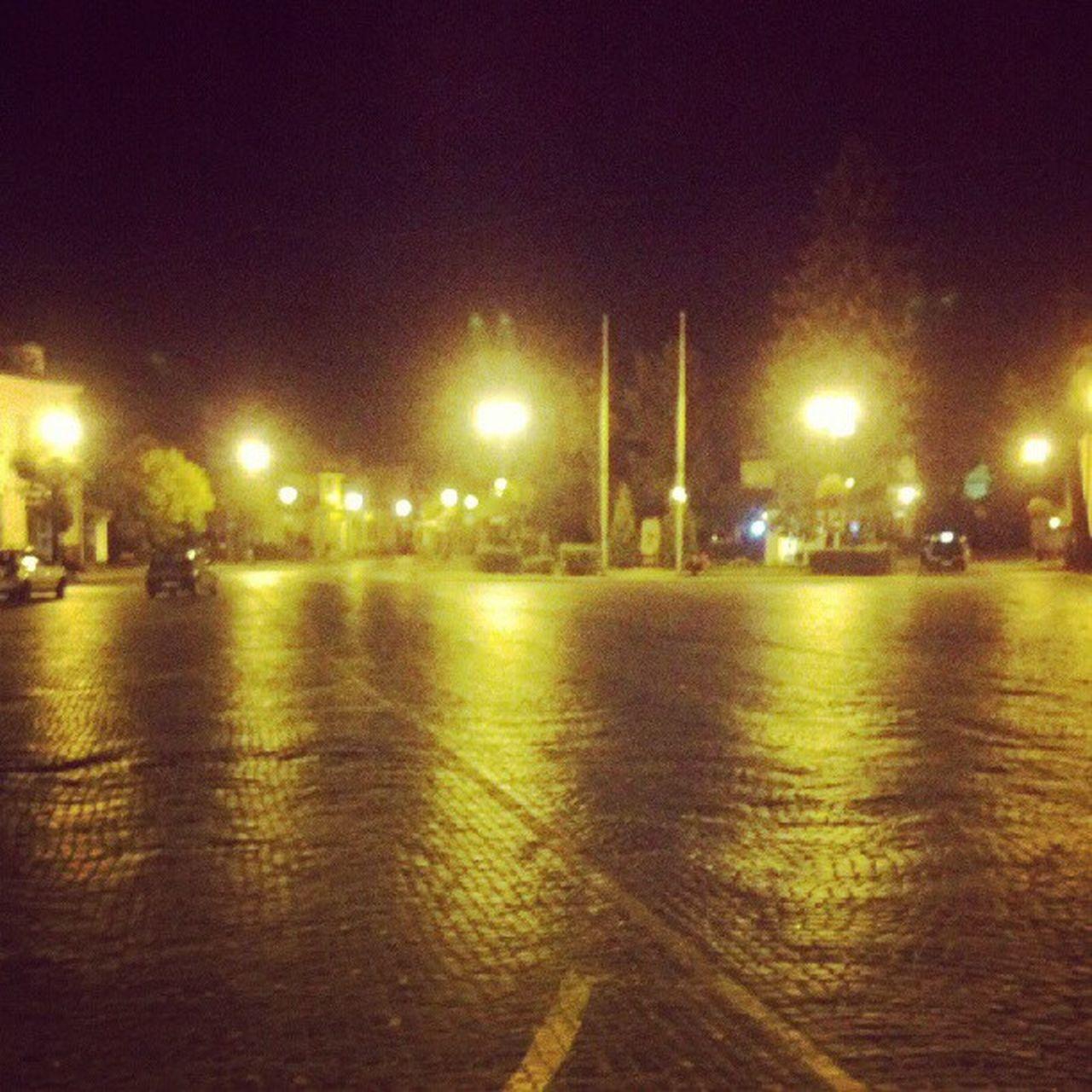VIEW OF ILLUMINATED STREET LIGHT AT NIGHT