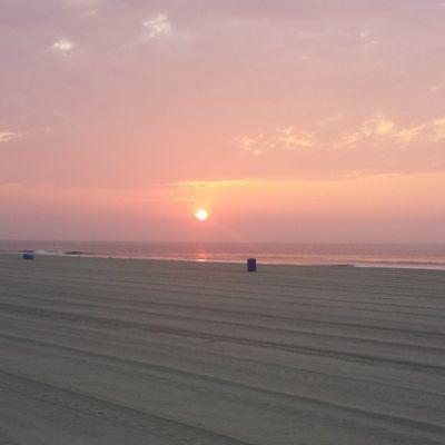 Got to watch my first sunrise in ocean city