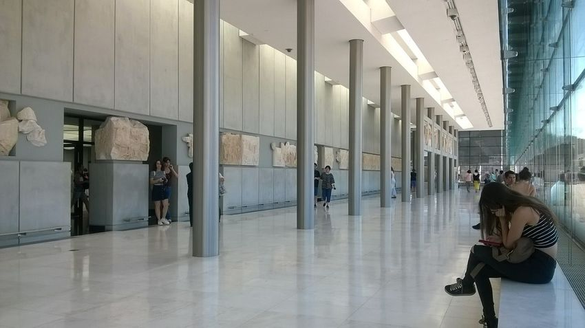 Acropolis Museum Adult Adults Only Architecture Athens City Business Finance And Industry Day Indoors  Law People Politics Prison Women