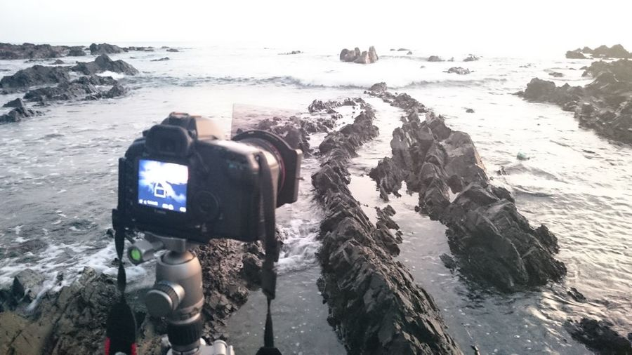 Behind the scene Taking Photos Check This Out Hanging Out That's Me Hello World Enjoying Life Travel Sunrise Lanscape Rocks Formation Texture Leading Lines Beach Bones