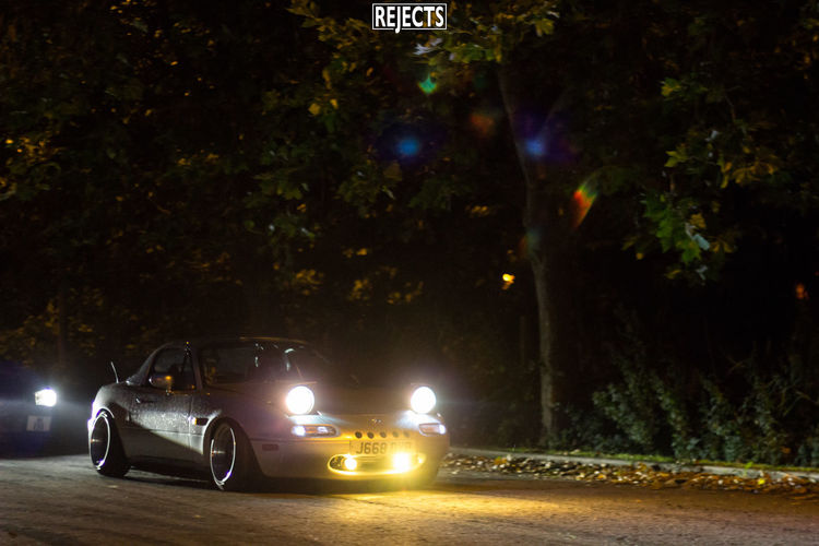 Midmonth Cruisers meet Sept 2016 Car Cruise Culture Eunos Japanese  Jdm Land Vehicle Mazda Meet Motor Vehicle Mx5 Night Pop Up Lights Road Roadster First Eyeem Photo