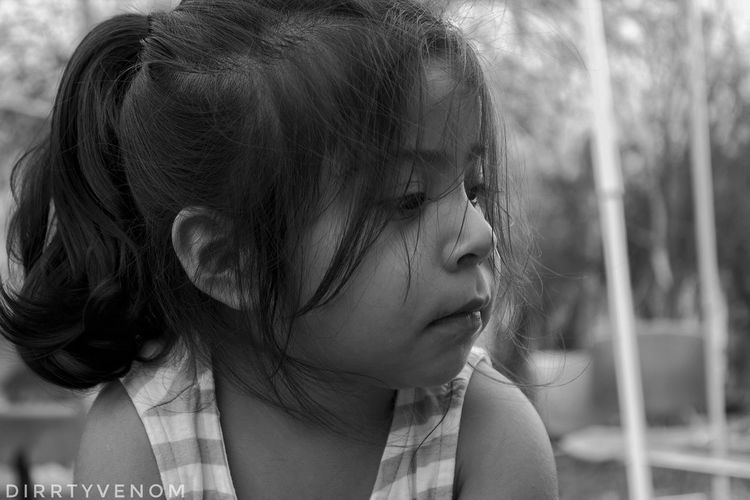 EyeEm Selects Blackandwhite Childhood Portrait Neice Black And White Photography First Eyeem Photo