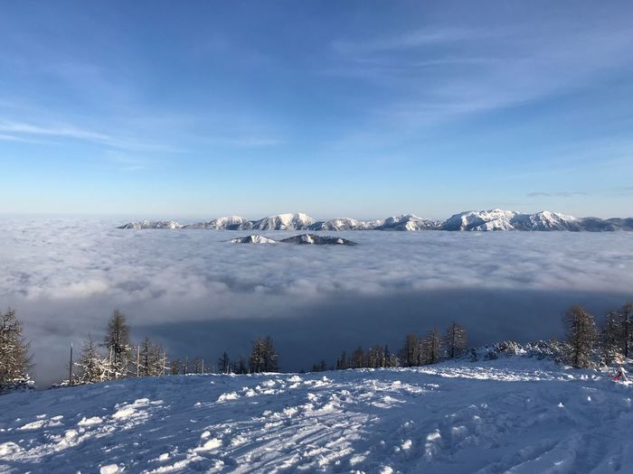 Clouds Skiing ❄