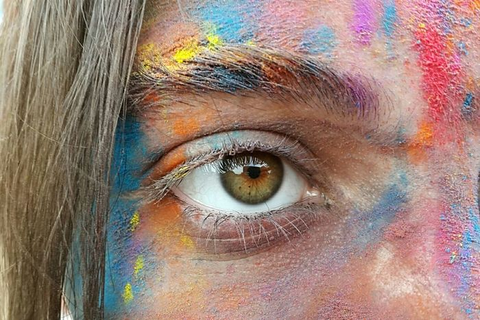 Eyes Colorful Colorup Colour Of Life
