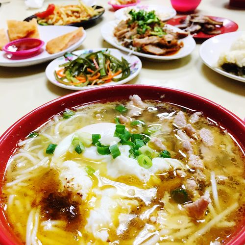 The View And The Spirit Of Taiwan 台灣景 台灣情 Chinese Food Noodles Rice Noodles Roundtable