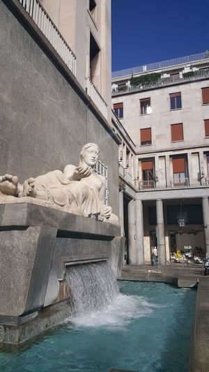 Architecture Building Exterior Built Structure Water Day Outdoors No People Swimming Pool Travel Destinations Clear Sky Sky torino la dora Italia Italy Turin