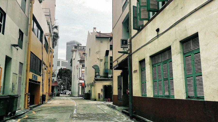 Singapore Beach Road Tan Quee Lan Back Alleys Buildings Architecture Shophouses