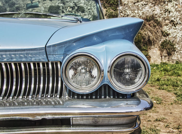 old car Old Cars ❤ Old Cars Bumper Car Chrome Close-up Day Focus On Foreground Headlight Land Vehicle Luxury Metal Mode Of Transportation Motor Vehicle Nature No People Old Car Outdoors Retro Styled Shiny Silver Colored Stationary Transportation Vintage Vintage Car