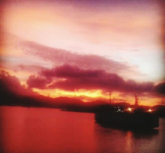 Lombok Indonesia Oil Pump Water Sunset Industry Sea Silhouette Fuel And Power Generation Nautical Vessel Dramatic Sky Sky