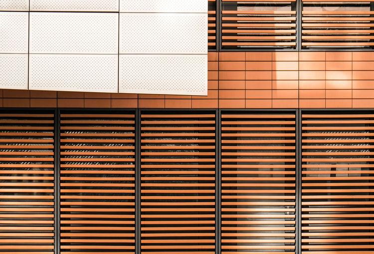 Close-Up Of Building Windows